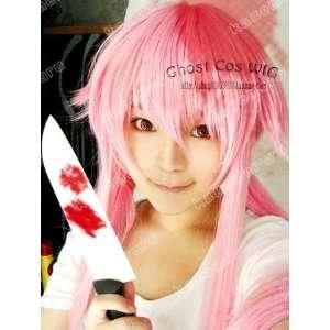 Future Diary / Mirai Nikki Gasai Yuno Cosplay Wig + free