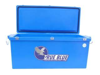 NEW 735Qt Large Blue Ice Cooler   Ice Chests   Cooler Boxes   True