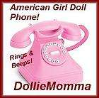 GIRL DOLL TODAY~Pink Play Phone~Sold Out Accessory~McKe​nna~Works