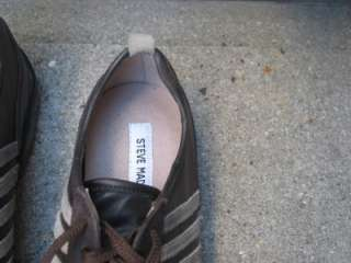 STEVE MADDEN Brown Leather Athletic Inspired Shoes 8.5