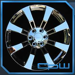GMC SIERRA TAHOE YUKON 22 CHROME FACTORY STYLE RIMS WHEELS NEW IN BOX
