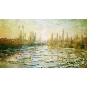 12X16 inch Claude Monet Impressionist Canvas Art Rep The