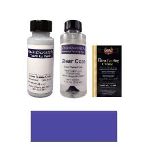 2 Oz. Intensa Blue Pearl Metallic Paint Bottle Kit for