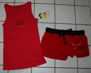 NWT Juniors BETTY BOOP Red Tank & Boxer Set ~Jr Sizes~