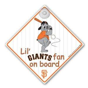 MLB San Francisco Giants Car Sign