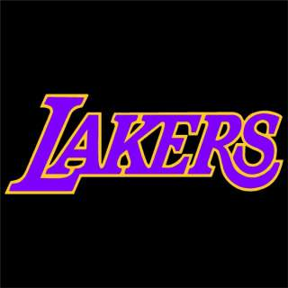 Los Angeles Lakers 2 Color Auto Window Stickers Decals