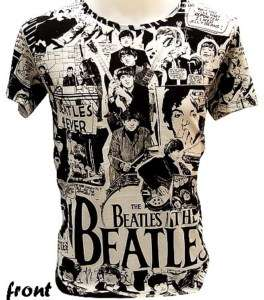 The Beatles 70s Retro Comic Rare VTG Rock T Shirt XL