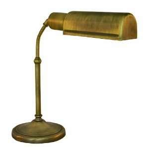 Lynnfield   Full Spectrum   20 in. Desk Lamp   Antique