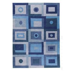 Decor Rug Hand Tufted 2007 Blue 2.67 ft. x 7.84 ft