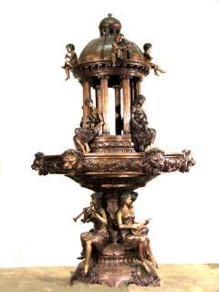 Large Outdoor Cast Bronze Dome Water Fountain MGSRB30225