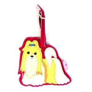 Shih Tzu Dog Luggage Tag by Fluff