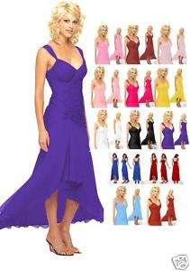 Gorgeous Prom Bridesmaid Cocktail Dress 6021 Sz US 4 18