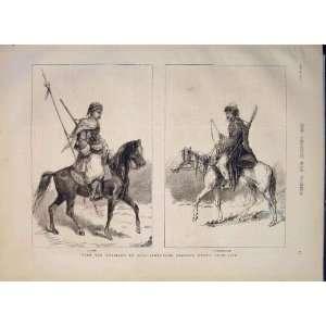 Kurd Karakalyrak Russians Asia Cavalry Portrait 1877: Home