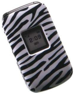NEW ZEBRA SKIN COVER CASE FOR SAMSUNG KNACK U310 PHONE