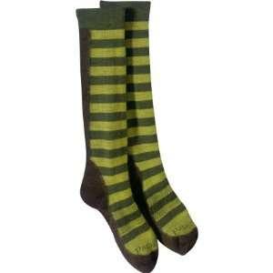 Ski Sock Frequency Stripe Kombu Green, XL
