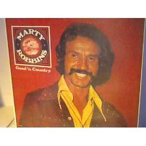 good n country LP: MARTY ROBBINS: Music