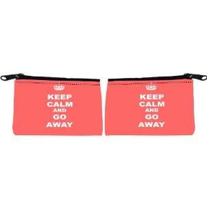 Rikki Knight Keep Calm or Go Away   Tropical Pink Color