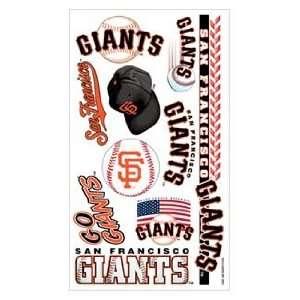 San Francisco Giants Tattoo Sheet **