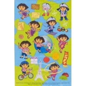 Dora the Explorer World of Adventure Sticker Sheets 2 Pk Toys & Games