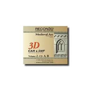 RECON3D Vol.2 Medieval Art, 3D Content Collection (CAR
