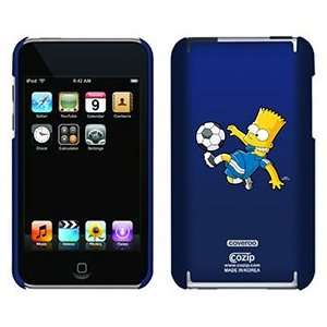 Soccer Bart Simpson on iPod Touch 2G 3G CoZip Case