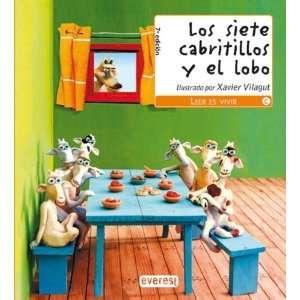 Los Siete Cabritillos Y El Lobo (9788424180157): AA.VV.: Books