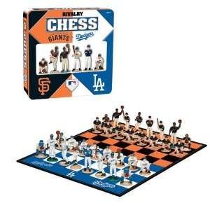 San Francisco Giants MLB Rivalry Chess Set (TIN)