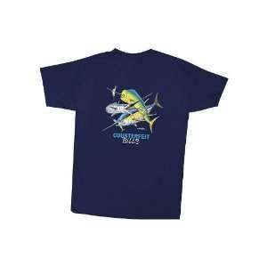 Bills Youth T Shirt Navy Blue Youth Medium