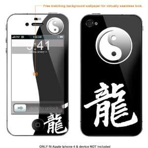 Skin Sticker for AT&T & Verizon Apple Iphone 4 case cover iphone4 411