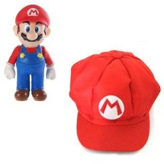 Mario Bro Red Baseball Cap Mario Hat Toys & Games