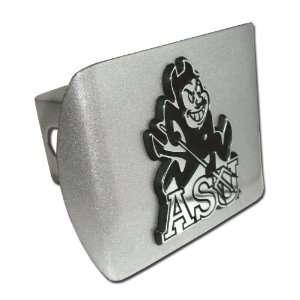 Arizona State University ASU Sun Devils Brushed Silver with Chrome