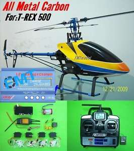 500CF R2 Metal carbon 500 RTF RC Helicopter,trex 500