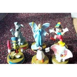 6 Disney 100 Years of Magic Figures