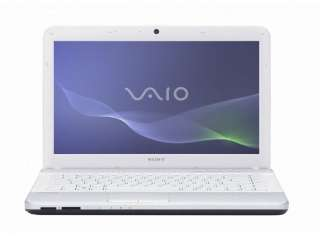 Sony VAIO 14 inch LED Backlit VPC EG1AFX/W 500GB 4GB Webcam (White