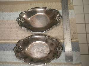 International Silver Company Silver plated Trays (2)
