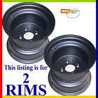 10x8.5 4 HOLE Riding Lawn Mower black Rims Wheels