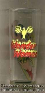 WONDER WOMAN 1978 DC Comic PEPSI Collector Glass