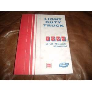 1994 Chevrolet / GMC Light Duty Truck Unit Repair Manual