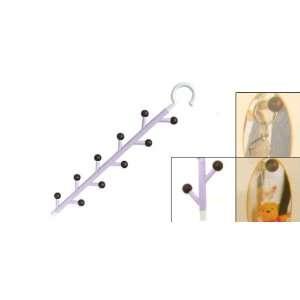 Amico Purple Plastic Pegboard Clothes Bag Gadgets Hanger