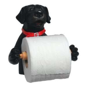 Rivers Edge Products Black Lab Wall Mount Toilet Paper