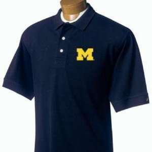 Wolverines Polo Shirt   Michigan Wolverines Classic Polo Navy