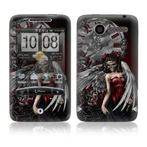 HTC WildFire (Alltel) Skin Decal Sticker   Gothic Angel