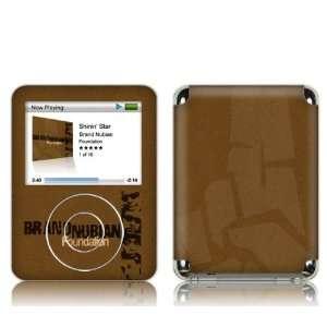 Music Skins MS BN10030 iPod Nano  3rd Gen  Brand Nubian