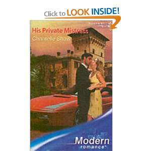 Mistress (Modern Romance) (9780263848205) Chantelle Shaw Books