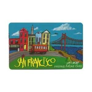 Collectible Phone Card $10. San Francisco, CA. Artistic City Section