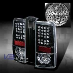 Scion XB Led Tail Lights Black LED Taillights 2003 2004 2005 2006 2007