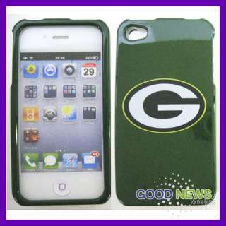 AT&T Apple iPhone 4 4S   Green Bay Packers Hard Case Cover