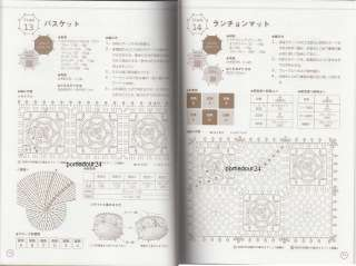 SMALL and EASY CROCHET   Japanese Craft Pattern Book