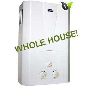 On Demand Propane Gas Tankless Hot Water Heater Whole House 16L 4
