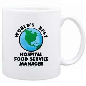 New  Worlds Best Hospital Food Service Manager / Graphic  Mug